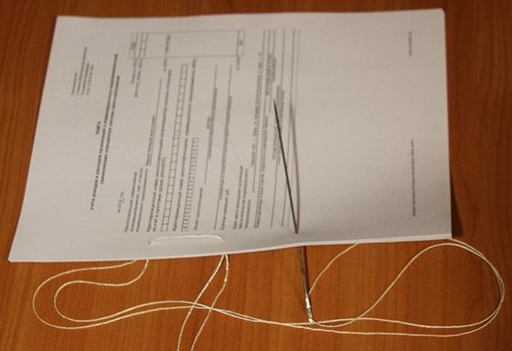 Способ сшить документы 24
