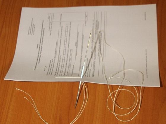 Способ сшить документы 32